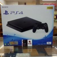 PS4 SLIM BLACK 1TB