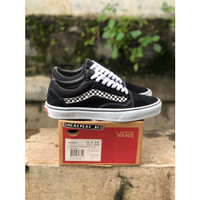 VANS OLD SKOOL SIDE STRIPE CHECKERBOARD BW CLASSIC