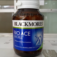 Bio Ace Excell Blackmores asli..isi 80 softgel