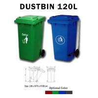 Tempat Sampah Dustbin 120L Dinas Perkantoran dan Perumahan