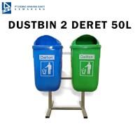 Tempat Sampah Dustbin 2 Deret Dinas Perkantoran dan Perumahan