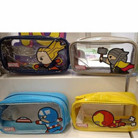 marvel pouch miniso/tempat pensil/kotak pensil/kotak makeup