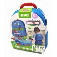 Mainan Anak MAINAN DOCTOR MEDICAL TOOLS BACK PACK 17 PCS 688-81A