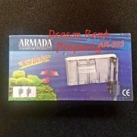 Slim Hanging Filter Aquarium Akuarium 3in1 Armada AR-603 603