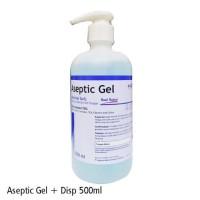 aseptic gel 500ml pump onemed