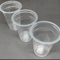 Gelas Plastik 220ml Gelas Plastik Wayang Isi 50pcs Tahan Panas& Dingin