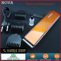 Alat cukur rambut Kumis Dll Nova NS - 216 Hair And Beard Trimmer - Putih