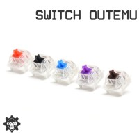 Switch OUTEMU - Red Brown Blue Black Purple Mechanical Keyboard
