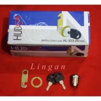 Kunci Camlock 20 mm /Locker/Lemari / Box Panel / Box Motor merk Huben