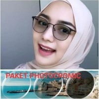 Kacamata Wanita | Lensa Photocromic | Kacamata Anti Radiasi