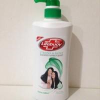 Lifebuoy shampo hijau kuat dan berkilau 680 ml