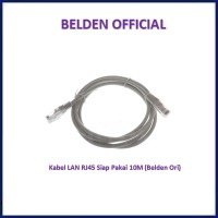 Belden CAT5e 10M UTP RJ45 ORIGINAL Cable Kabel LAN Siap Pakai Cat 5e
