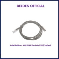 Belden CAT5e 5M UTP RJ45 ORIGINAL Cable Kabel LAN Siap Pakai Cat 5e