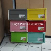 Rak Serbaguna Plastik OSS Storage tempat laci serbaguna Olymplast