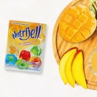 NUTRIJELL EKONOMIS MANGGA. Nutrijell agar agar jelly konyaku.