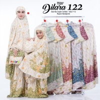 new mukena couple dilara 122 super jumbo rayon handprint adem nyaman