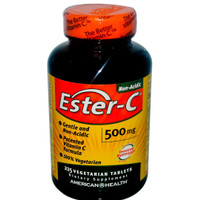 Ester-C 500 mg 225 vegetarian tablets, American Health