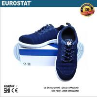 Sepatu Safety Eurostat- Coral Snake, CE & SNI Certified