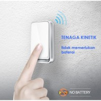 Transmitter Wireless Door Bell Waterproof (hanya transmitter)