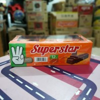 Superstar Wafer Triple Chocolate (box 12 pcs @18gr)