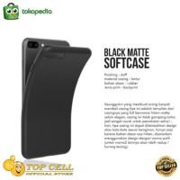 Black Matte Case SAMSUNG J7 PRO J730 Softcase Slim Matte Lentur Doff
