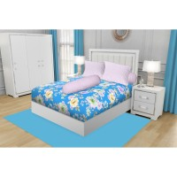 SPREI QUEEN CALIFORNIA FITTED 160X200 SELECTA + Free Masker