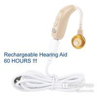 Alat Bantu Dengar Pendengaran Hearing Aid Recharge Dengan Noise Filter