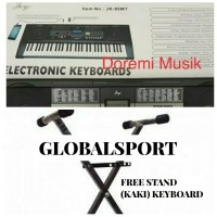 Keyboard piano JOY JK80 MT ORIGINAL FREE STAND (KAKI KEYBOARD)