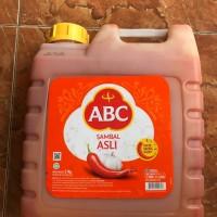 ABC CHILI SAUCE - SAOS SAMBAL ABC 5,7KG - ABC GALON JERIGEN