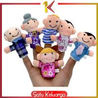 SK-M8 Boneka Jari Mainan Anak Bayi Finger Puppet Mainan Edukasi Boneka
