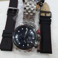 Jam tangan pria Alexandre Christie Original AC 6163