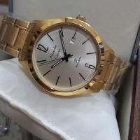 Jam tangan pria Alexandre Christie Original AC1009 Gold