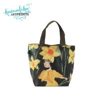 Totebag Kanvas / Tas Wanita / Tas Jinjing Daffodil Kamalika Artprints