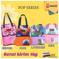 GABAG Cooler Bag Pop Series Ceri, Lavender, Nuri, Gendis - Tas ASI