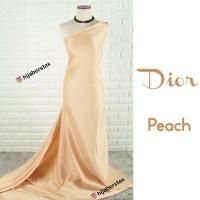 HijabersTex 1/2 Meter Kain DIOR Peach