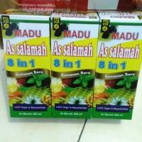 Madu Assalamah Obat Batuk / Flu / Demam / Stamina / Assalamah 8 in 1