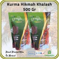 [ 2 Pck @ 500 Gr ] Kurma Hikmah Jenis Khalash Premium Emirates Dates