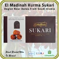 [ 1 Pck @ 500 Gr ] Kurma Sukari El Madinah Food Premium Dates Saudi