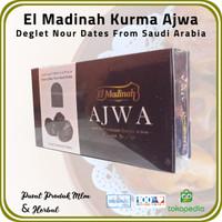 [ 2 Pck @ 500 Gr ] Kurma Ajwa El Madinah Food Premium Dates From Saudi