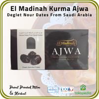 [ 1 Pck @ 500 Gr ] Kurma Ajwa El Madinah Food Premium Dates From Saudi