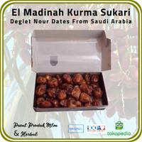 [ 3 Pck @ 500 Gr ] Kurma Sukari El Madinah Food Premium Dates Saudi