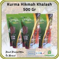 [ 3 Pck @ 500 Gr ] Kurma Hikmah Jenis Khalash Premium Emirates Dates