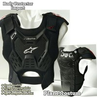 Body protector sepeda motor trail import cross downhill fox