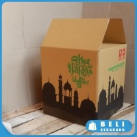 HOT SALE BOX BINGKISAN KARDUS PARCEL LEBARAN 30x30x33cm - Terjamin