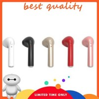 Headset Bluetooth HBQ i7 / Handsfree Mic Wireless Apple / iPhone