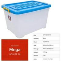 shinpo box container roda 130 liter mega boxer shinpo 130 liter