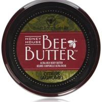 Honey House Naturals 8 oz Tub Bee Butter Citrus