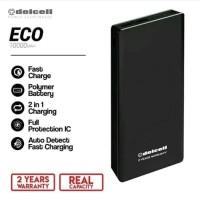 Powerbank Delcell Eco 10000mah Power Bank Eco 10000 Mah Slim Original