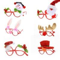 Kacamata Hias Tema Natal untuk Dekorasi/Mainan Anak
