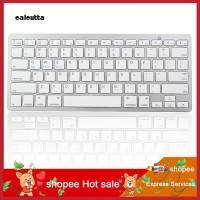 PC Keyboard Wireless Bluetooth Ultra Slim untuk Apple iPad / Laptop